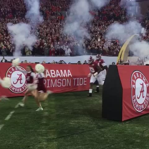 Let's get it. Alabama Football #RollTide