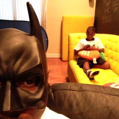 If BatDad was black. W/ BenTaylor_ #BatDad #HomeWork vine