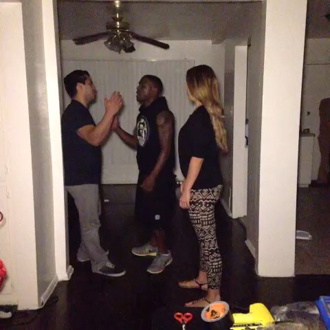 PARANORMAL ACTIVITY. Caught on camera. W/ Klarity , SheriLynn vine