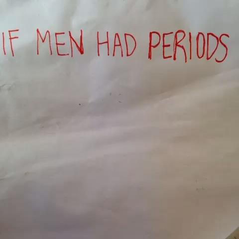 If men had periods. W/Anthony Pierce vine