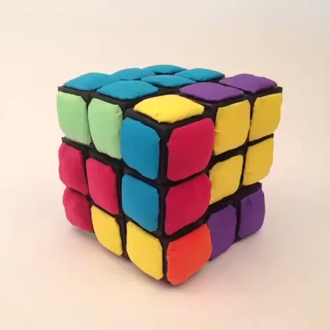 Sorting colors is hard, so we worked with meagan cignoli to soften it up!        Rubiks.com vine