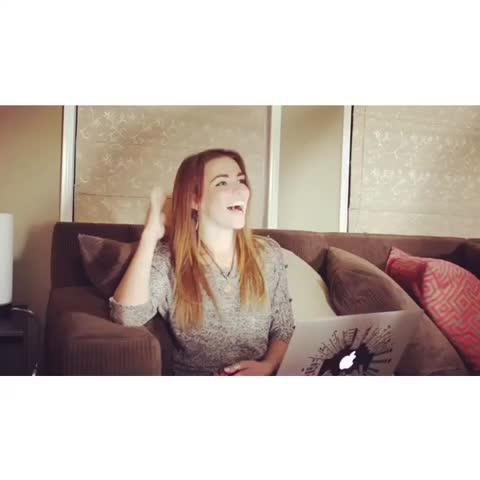 "NEW YOUTUBE VIDEO!! ""Dance To It Challenge with Amymarie Gaertner""!! Hope you enjoy!! 😂🎵 YouTube.com/ThomasSanders"