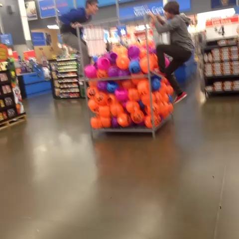 Walmart Ball Pit: Halloween Edition  vine