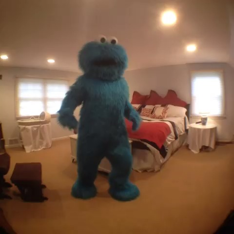 Cookie Monster performs interpretive dance to express his addiction (Amymarie Gaertner  #remake) vine