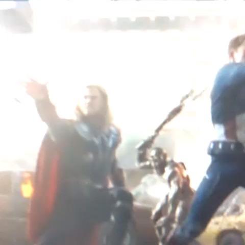 STOP....HAMMER TIME.  Thor & MC Hammer Mashup vine