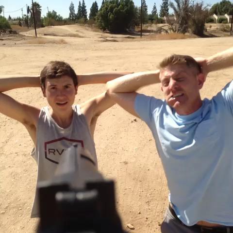 Brandon and Jason vs The Apocalypse (pt. 14)  w/Brandon Calvillo, KingBach vine