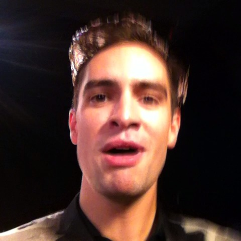 #PositiveHardcoreMonday with Brendon Urie of Panic! At The Disco. vine