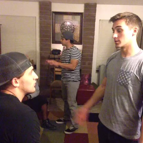 In horror movies, the black guy always dies first, no matter what. w/ Cody Johns & David Lopez #YouPassedByLike8People #Klarity vine