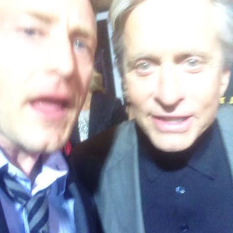 Michael Douglas and Me #lastvegas Video Thumnbail