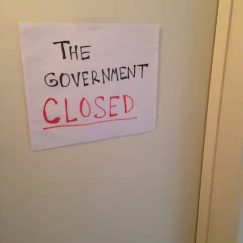 Governement Shutdown Day 4 vine