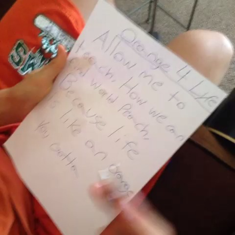Help me out, #TeamOrange! Make a vine with a word rhyming with orange!! #MyColorSplash w/Brandon Calvillo vine