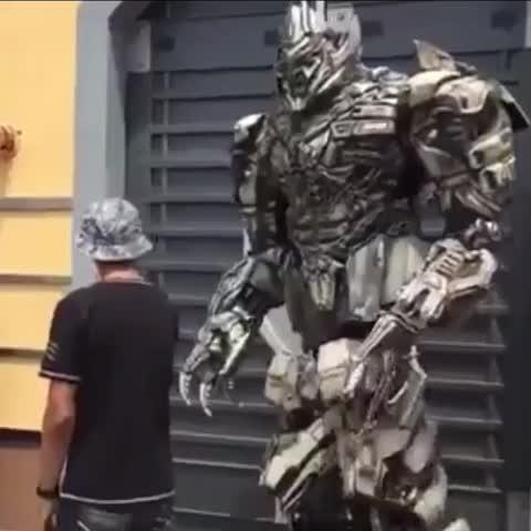 Megatron told him 😂