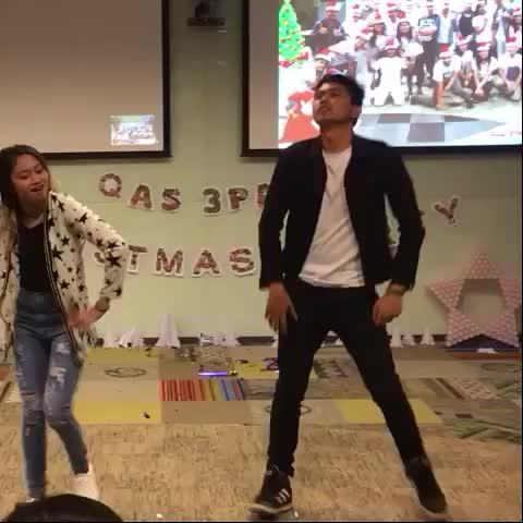 Let's dance the night! #dance #xmasparty #pinoyvines #fettywap #leggo