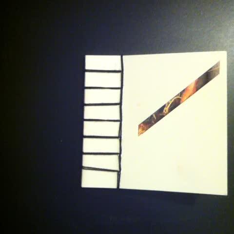 """InsertVI"" handmade book of cassette j-cards by #terencehannum 2014 / #echoandthebunnymen #harryconnickjr #eltonjohn #cultureclub"