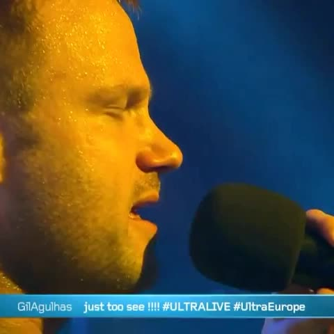 Dash Berlin getting emotional on stage at Ultra Europe! #Ultra #umf #trance #EDM #edmfamily #dashberlin #tomorrowland