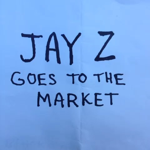 Jay Z goes to the market. vine