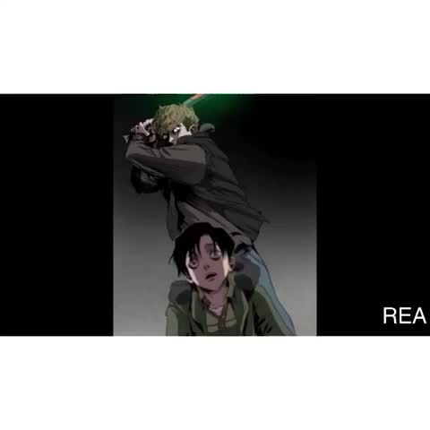 Levi and jean.... WHY DT ~Anime.Edits~ lol also he can hurt me anytime