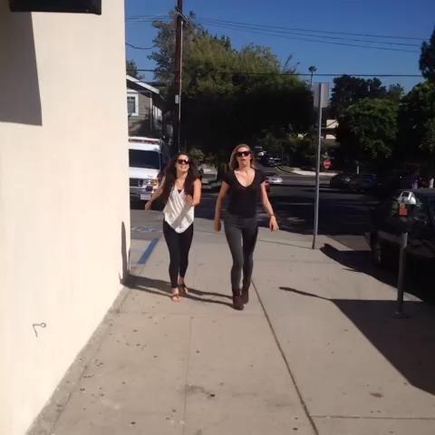 Just walk natural part 2 with Manon Mathews #natural #ladies #hot vine