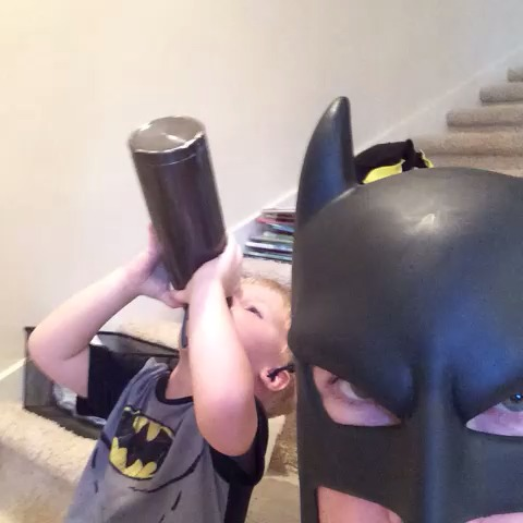 You're going to spill it #batdad vine