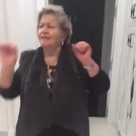 grandma loves her some drake 😂💀