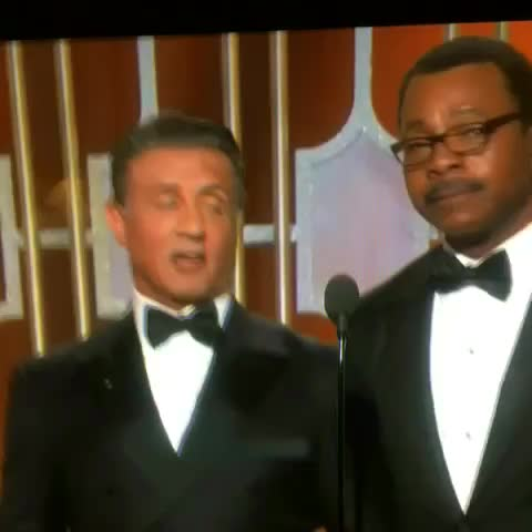 40 years later... Get your cameras ready! #Rocky #Apollo #GoldenGlobes