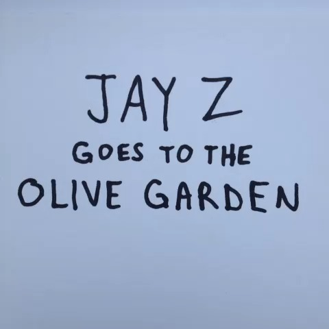 Jay Z goes to the Olive Garden. #UnlimitedBreadsticks vine