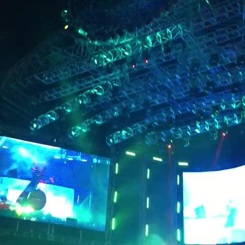 #Skrillex at #Umf Korea 2015
