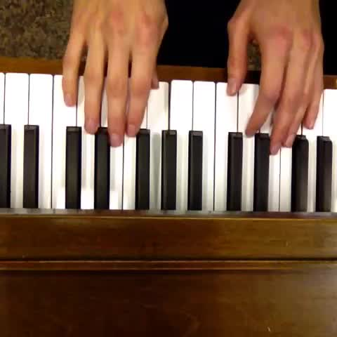#perfectloop I'm so proud of myself. #themesong from #TheGiver on #piano #CanadianVinersGroup #music #rosemary