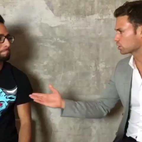 When interviews get personal 😢 w/Jordan Taylor Wright, Lele Pons Video Thumnbail