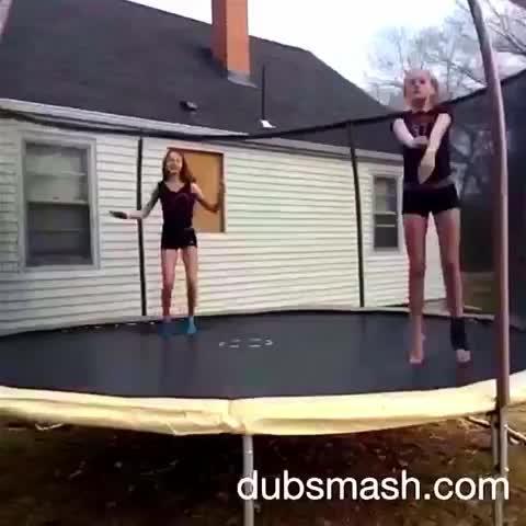 Solider boy ❤️➰ #dubsmash #soilderboy #trampoline #song #music #flip