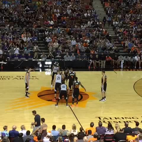 "watch suns's vine ""tipoff at the madhouse on mcdowell!!"""