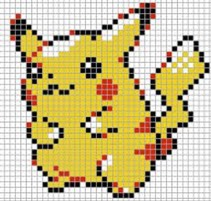 8 bit bulbasaur grid  Google Search  Pinterest