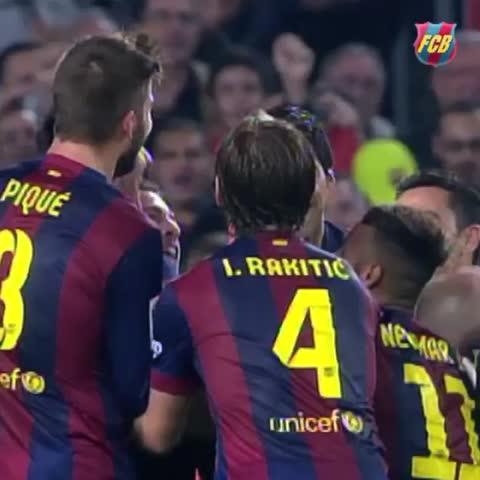 Vine by FC Barcelona - FC Barcelona ❤️ Messi