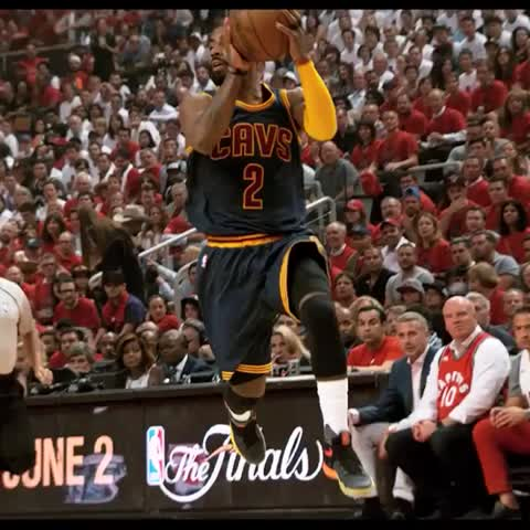 Vine by NBA - LeBron drops the BOOM off the Kyrie dish! #PhantomCam #CAVSvRAPTORS