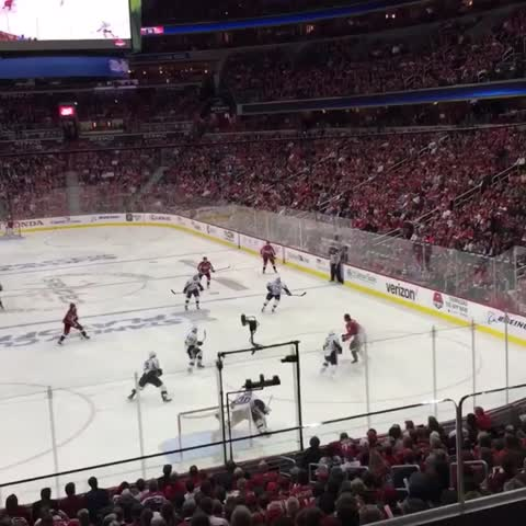 Vine by Washington Capitals - Oshie Twice is Nice. #CapsPens #RockTheRed
