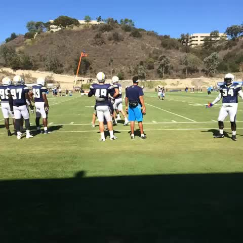 Watch San Diego Chargers S Vine Quot Melvin Ingram Is Pumped