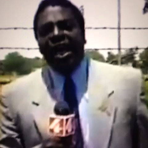 News Reporter's reaction to Miley Cyrus's ass.