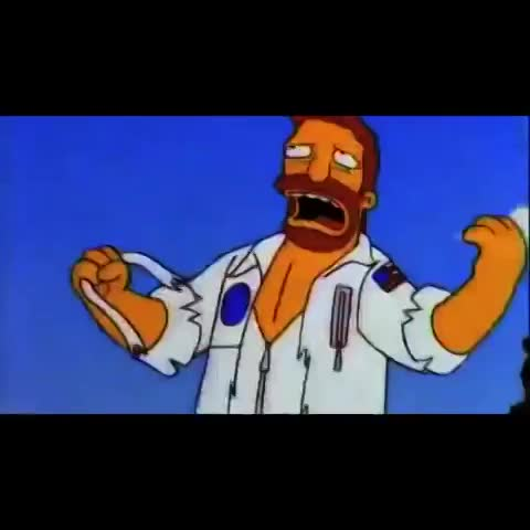 Lo Mejor De Los Simpsonss post on Vine - DR. Zaius #LosSimpsons - Lo Mejor De Los Simpsonss post on Vine