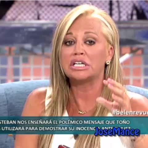 Vine by JoseMance - Yo vengo a hablar de mis vacaciones, mis holides... #BelenEsteban #Vinealo #HagamosVine  #BelenRevuelta #Salvame #GH #Belen #Esteban