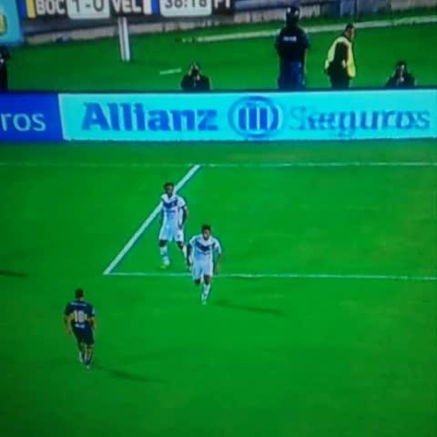 Vine by ElCrackDeportivo - Gol de Colazo para poner #Boca 1 - 0 #Velez