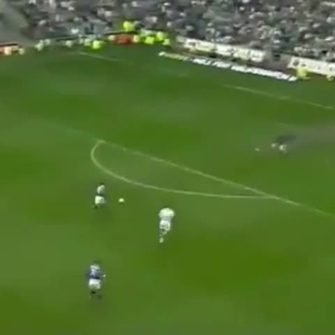 Vine by Glagow Rangers Vines - Neil McCann clinches the championship at Celtic park to make it 3-0 Rangers in 1999