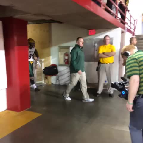 NDSU Athleticss post on Vine - The HERD takes the field in front of a partisan Bison crowd in Vermillion! #BisonPride #BringTheNoise! - NDSU Athleticss post on Vine