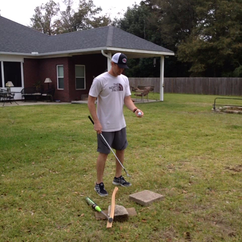 David Cramblitts post on Vine - #howto #trickshot #golf #baseball #softball #outside #sports #athlete #cramblitt Christopher Murrill - David Cramblitts post on Vine