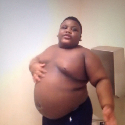 фото толстого негра