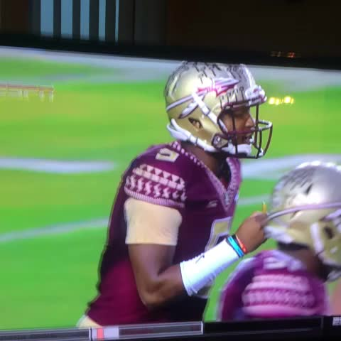 Jameis Winston has no time for you ref. - Will Ojanens post on Vine