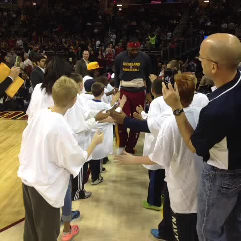 Second-half hoops up NEXT in #TheLand. #CavsRaptors - Cavss post on Vine