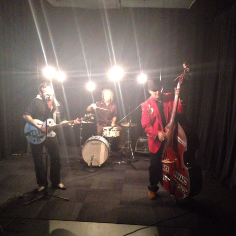 Rick Howard and the Speedbumps record a Sessions #InThe239 - Dave Osborns post on Vine