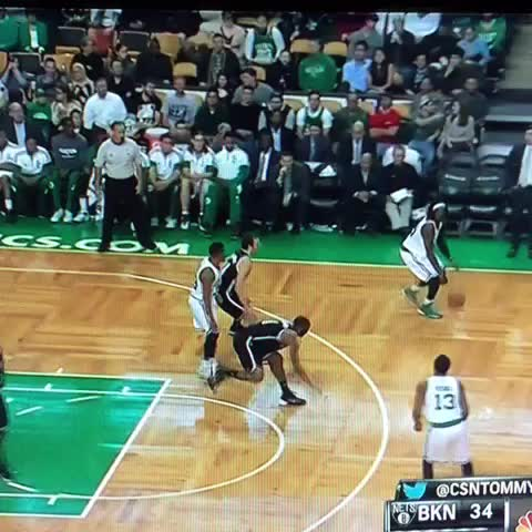 James Young wastes no time and buries a three: #celtics - KWAPTs post on Vine