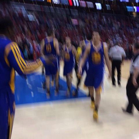Awesome Warriors win in L.A. to start Playoffs - Laurence Scotts post on Vine
