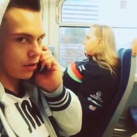 Shes on he train now , shall I grab her now or when she gets off ???? - Vine by Jack Jones Tv - Shes on he train now , shall I grab her now or when she gets off 😂
